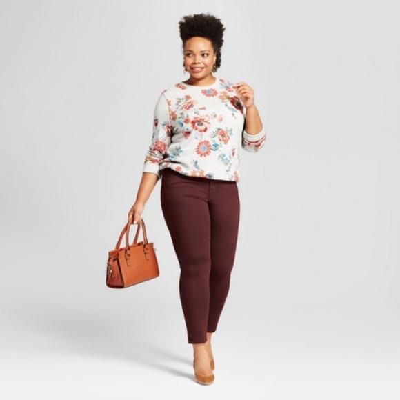 0747a3f1969a7 Ava & Viv Jeans | New Ava Viv Berry Skinny | Poshmark